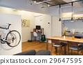 방, 자전거, 인테리어 29647595