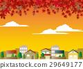 가을날 벡터 29649177