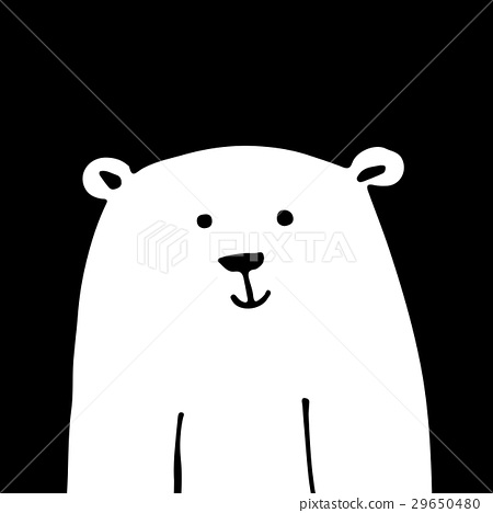 White bear, sketch for your design 29650480