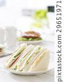 샌드위치, 빵, 양식 29651971