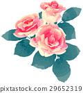 꽃, 플라워, 벡터 29652319