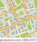 แผนที่,เมือง,เวกเตอร์ 29652472