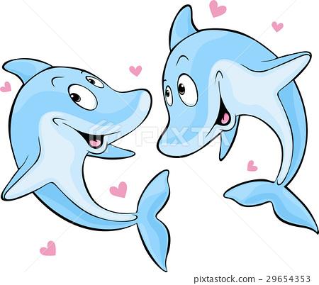 dolphin in love 29654353