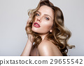 Beauty portrait of model with natural make-up 29655542