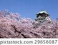 大阪城 城堡塔楼 天守阁 29656087