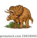 恐龍 三角龍 侏羅紀 29658000
