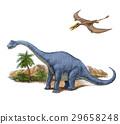 공룡 프라 키오 사우루스와 람 포링 쿠스, 공룡, 쥬라기, 29658248