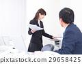 a, businesswoman, office 29658425
