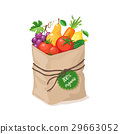 bag, grocery, paper 29663052