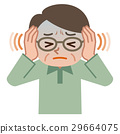頭疼 頭痛 身體虛弱 29664075