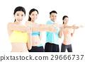 团队 伸展 健身房 29666737