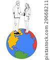 商業 商務 地球 29668211