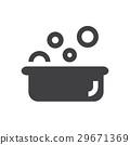 bathtub baby icon symbol 29671369