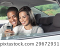 Teenagers with car 29672931