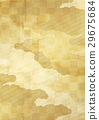 background material, gold leaf, checks 29675684