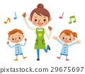 保育士と園児の音楽活動 29675697