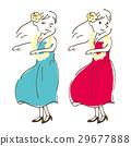 草裙舞 自然 女生 29677888