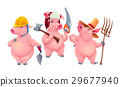 Three little pigs 29677940