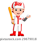 boy baseball player 29679018