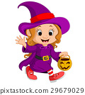Cute young witch 29679029