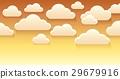 Stylized clouds theme image 4 29679916
