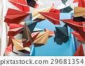 纸飞机 飞机 装饰 29681354