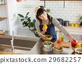 廚房 烹飪 食物 29682257