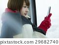 冬天 冬 女性 29682740