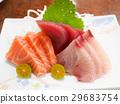 生魚片 魚肉 餐廳 29683754