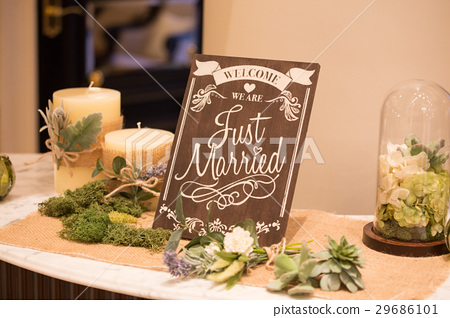 婚禮歡迎板 29686101