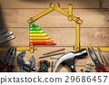 Home Improvement Concept - Energy Efficiency 29686457