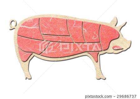 猪肉 猪 肉 29686737