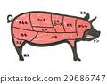 豬肉 豬 肉 29686747