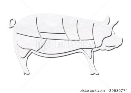 猪肉 猪 肉 29686774