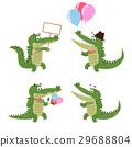 crocodile, alligator, friendly 29688804