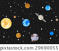 Planets of solar system. Outer space, open space 29690055