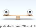 Balls balancing, Balanced concept. 29690418
