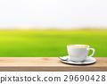 咖啡杯 桌子 桌 29690428