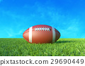 American Football on the Field.  29690449