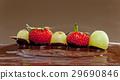 巧克力火锅 草莓 葡萄 29690846