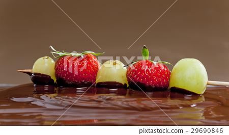chocolate fondue 29690846