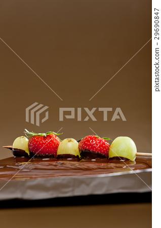 chocolate fondue 29690847