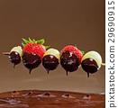 巧克力火锅 草莓 葡萄 29690915
