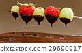 巧克力火锅 草莓 葡萄 29690917