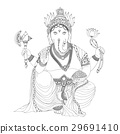 Ganesha is god of success.Ganesha is one of the be 29691410