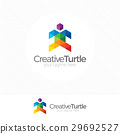 turtle, logo, vector 29692527