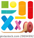 Adhesive Plaster Colored Collection 29694992