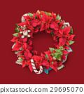 Christmas twig wreath 29695070