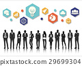 business illustration people 29699304