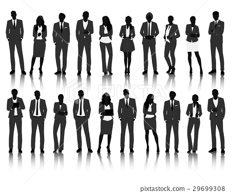 Vector UI Illustration Business People Concept 29699308